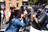 تظاهرات علیه نژادپرستی در آفریقای جنوبی + تصویر