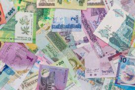 نرخ رسمی 46 ارز در 25 مهر 1400
