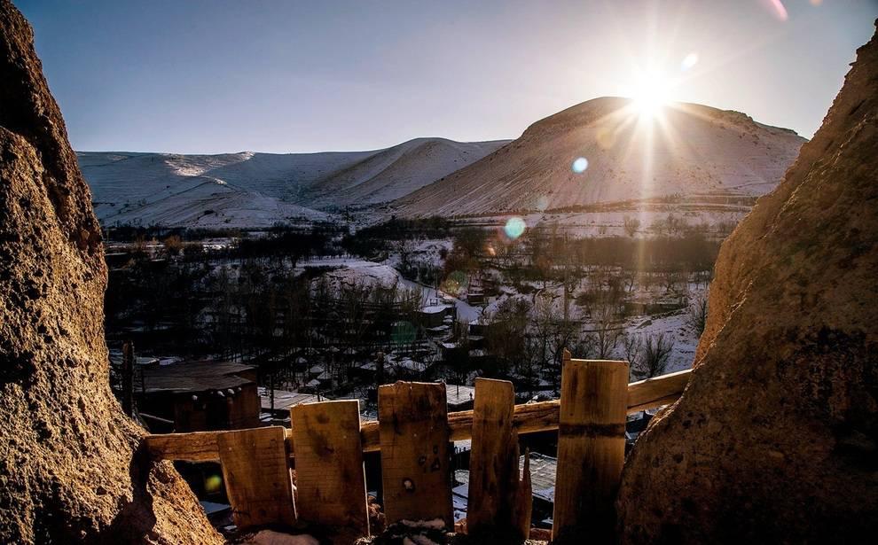زندگی در دل صخرههای سلطان داغی + تصویر
