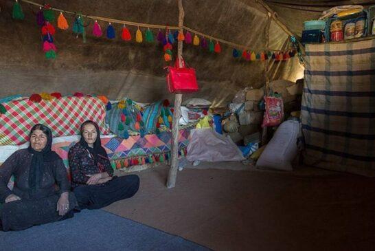عشایر منطقه کریت کمپ اهواز + تصویر