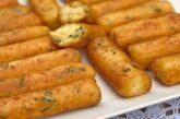 طرز تهیه چوبکهای پنیری