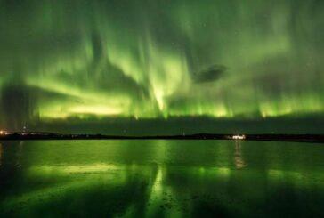پدیده شفق قطبی در فنلاند + تصویر