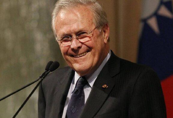وزیر دفاع جورج بوش پسر که بود و چه جنایاتی مرتکب شد؟