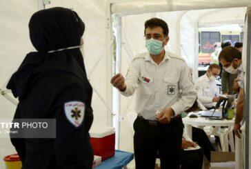 گزارش تصویری واکسیناسیون نمادین خبرنگاران سلامت