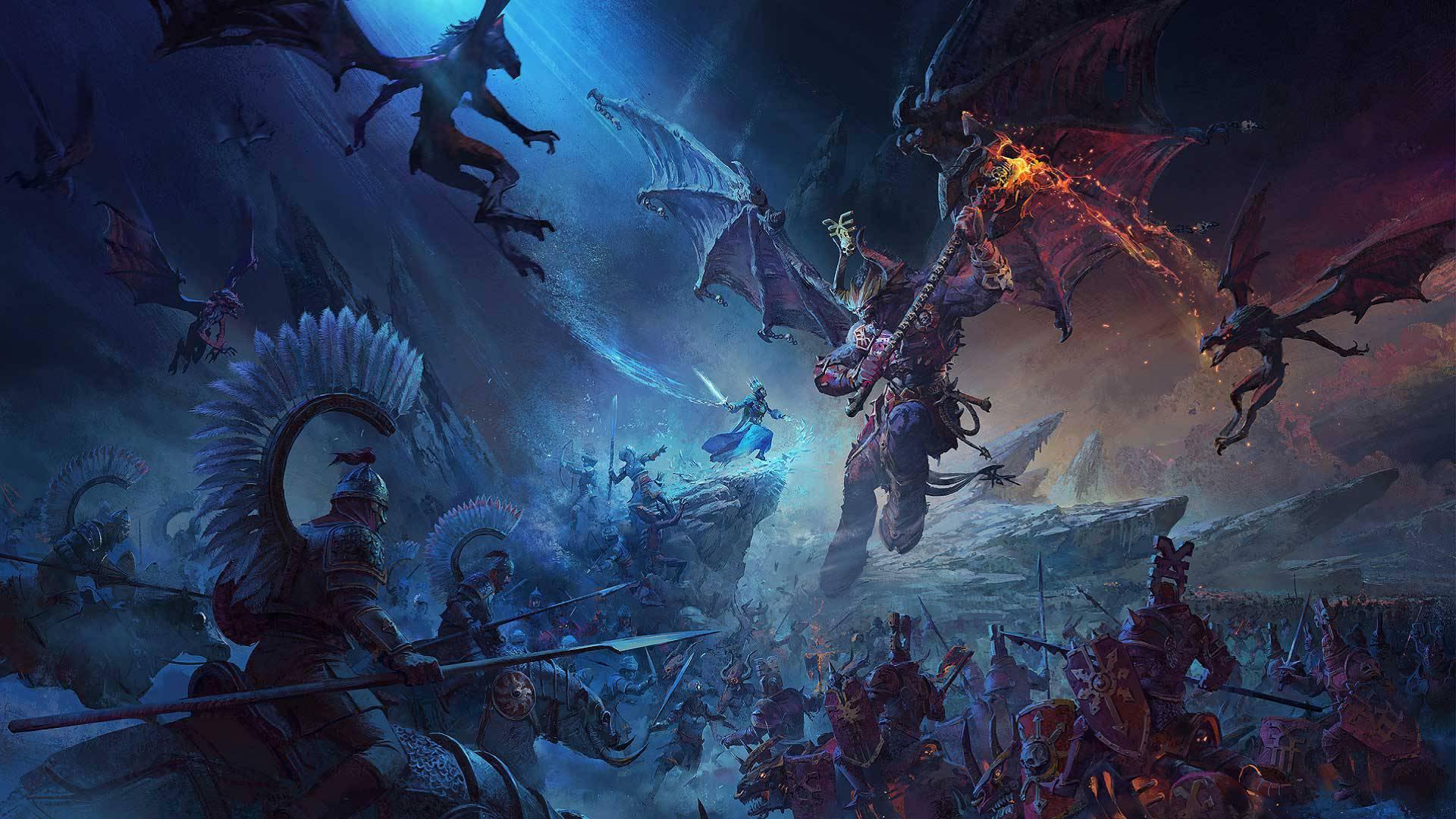 بازی Total War: Warhammer 3 تاخیر خورد