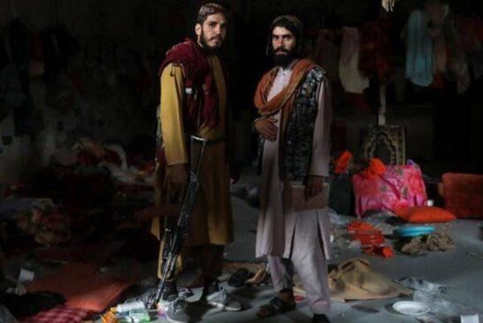 بگرام در دست طالبان + تصویر