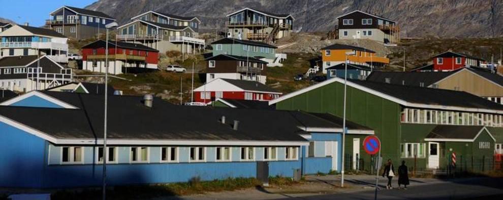 نمایی از گرینلند + تصویر