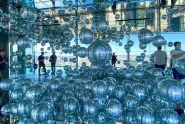 آسمان خراش شیشهای نیویورک + تصویر
