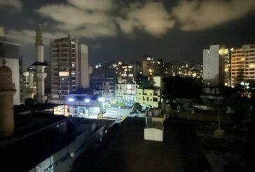 بیروت در تاریکی فرو رفت + تصویر
