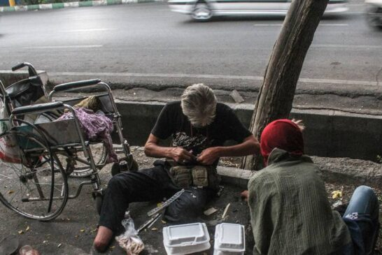 وضعیت دلخراش کارتنخوابها در تهران + تصویر